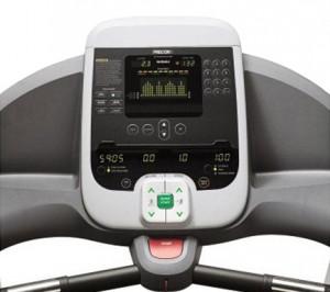 Precor Treadmill Console Pic