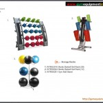 Body pump and gym rack