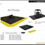 Gym Flooring and jigsaw matting