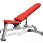 Dumbbell gym bench