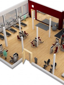 Gym Equipment Ireland .ie 3d Design image